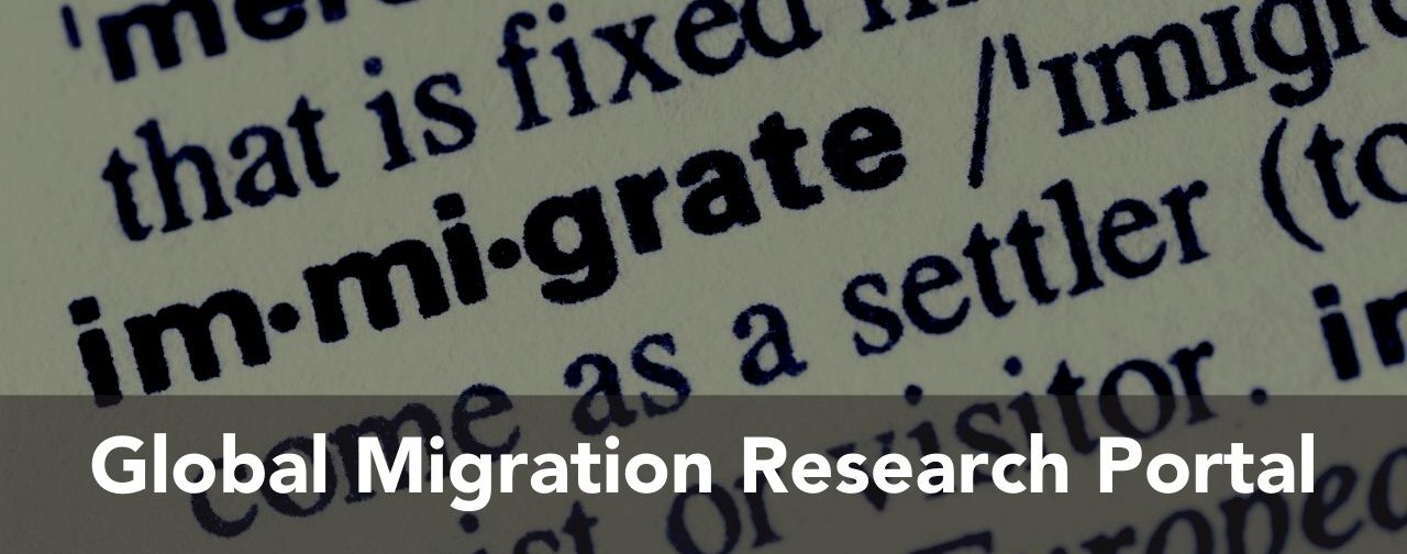 Global Migration Research Portal banner