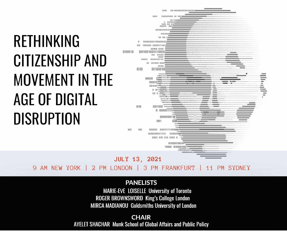 Digital Disruption Poster not abstract